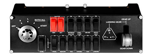 Logitech G Saitek Pro Flight Switch Panel Panneau de Commuta