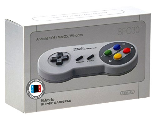 8BitDo SFC30 Manette sans fil Bluetooth