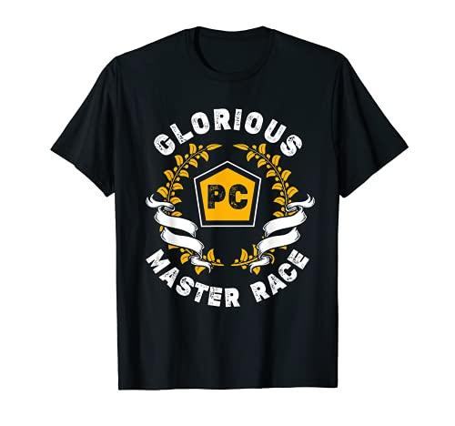 Glorious PC Master Race PC Gamer PC Gaming E-Sports T-Shirt