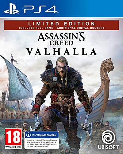 Assassins Creed Valhalla - Limited Edition - Version PS5 inc