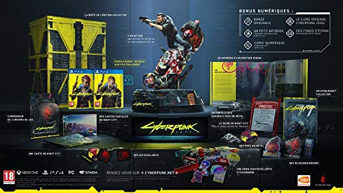 Cyberpunk 2077 Edition Collector (PS4)