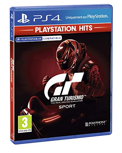 Gran Turismo Sport - PlayStation Hits, Version physique, En
