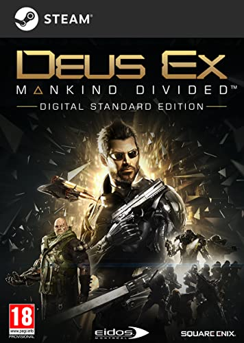Deus Ex: Mankind Divided [Code Jeu PC - Steam]
