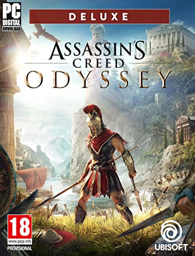 Assassins Creed Odyssey - Deluxe Edition [Code Jeu PC - Upla